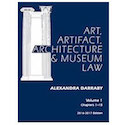 ART, ARTIFACT, ARCHITECTURE & MUSEUM LAW